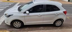 Título do anúncio: ford ka 1,5 SE 17/18 88000 km branco 4 pneus novos manual e chave