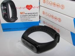 Relogio smartwatch m3 - Parcelo sem juros