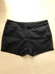 Título do anúncio: Shorts social curto preto H&M