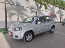 Fiat Uno 1.0 Evo Vivace 2011/2012 Prata