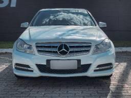Título do anúncio: Mercedes Benz C180 Branca CGI Classic 1.8 Turbo