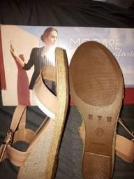 Vendo sapato tropical e sandalha Modare n37pra vender rapidinho
