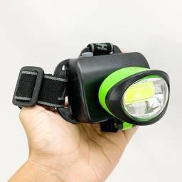 Título do anúncio: Lanterna Farol De Cabeça Para Bike Moto Camping Trilha