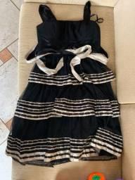 Vestido Infantil Festa M