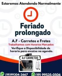 Título do anúncio: Carreto Picape A.F Fretes Campinas
