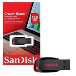 Título do anúncio: Pen drive Sandisk 128 gb  original lacrado Promoção