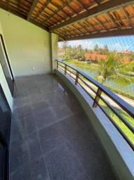 Apartamento de 3 Quartos Sem Mobilia Nascente Andar Alto Aquaville Porto das dunas
