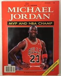 Revista Michael Jordan Mvp And Nba Champ N°1 1991 Air Jordan