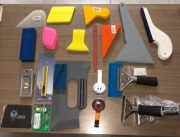 Linha completa de ferramentas para instalação de insulfilme