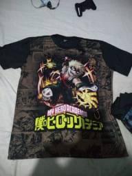 Camisas de anime