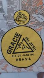 Título do anúncio: Patch GRACIE JIU-JITSU