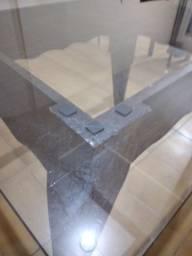 Mesa Jantar, tampo de vidro