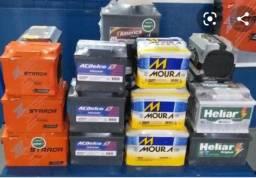 Bateria 65 amperes a partir de R$ 150,00