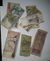 Dinheiro antigo (nacional e internacional) para colecionadores!