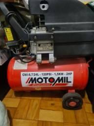 Título do anúncio: Compressor de ar elétrico Motomil 24L