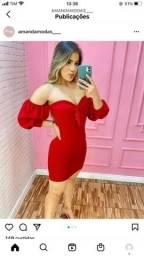 Título do anúncio: Vestido rubi