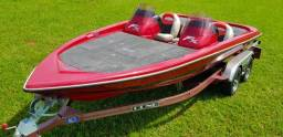 Lancha Bass Boat FX - Carreta Odne 2015 - 2015