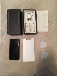 Iphone 7 256gb com nf acessórios originais aceito troca por x 256gb