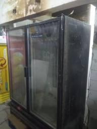 Freezer expositor duplo