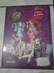 Livro 'A festa da Raven' Ever After High