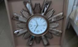 Relógio tema religioso 1x1 metro