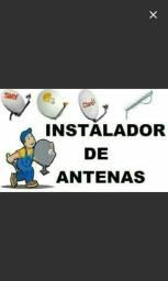 Instalacao e apontamneto de antenas