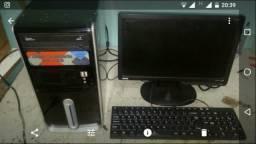 Otimo computador ibyte completo com garantia troco