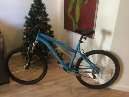 Bicicleta mountain bike aro 26? rock rider 340 azul btwin