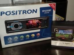 Vendo DVD , Modelo SP4330BT, um mes de uso, novo !