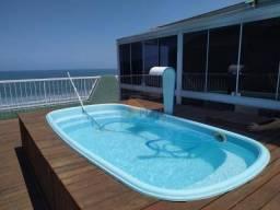 Cobertura para alugar, 380 m² por R$ 8.000,00/mês - Canto do Forte - Praia Grande/SP