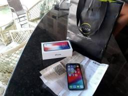 IPhone X NOVO nota fiscal a caixa garantia até novembro
