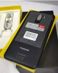 PocoPhone F1 128GB 4G PRETO ZEROS,LACRADOS,Garantia