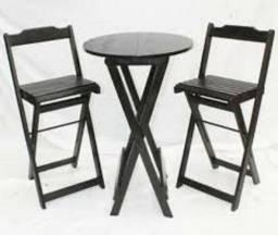 Mesas e cadeiras dobraveis e bistro para bares e restaurantes