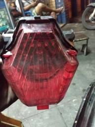 Lanterna traseira da MT 07