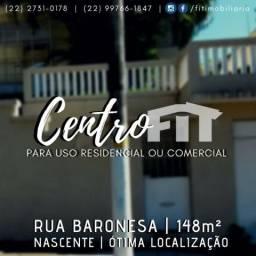 FIT - Centro - Ampla casa em excelente localização!