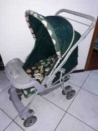 Carrinho de Bebê reclinável