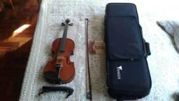Violino Eagle VE 144 4/4 novinho quase sem uso