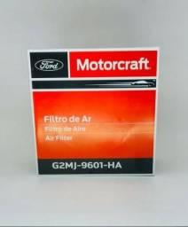 Elemento Filtro De Ar Do Motor Ranger Motores Duratec 2.5l