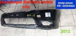 Parachoque dianteiro Honda city 15/18