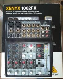Mesa de som behringer xenyx 1002fx