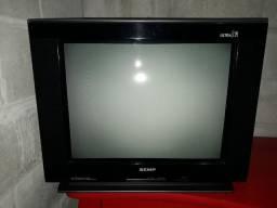 "TV de Tubo Semp Toshiba Ultra Slim Tela Plana 29"""