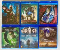 Blu-rays (lacrados e abertos)