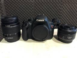 Câmera Canon T5 Completa Seminova