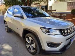 Jeep Compass longitude flex 2017 baixo km sem retoque, impecável, pneus novos