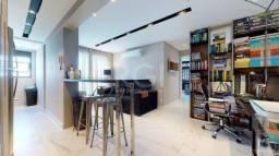 Apartamento à venda com 1 dormitórios em Jardim do salso, Porto alegre cod:IK31370