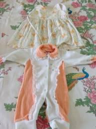 Roupinhas infantil e bebê menina usada