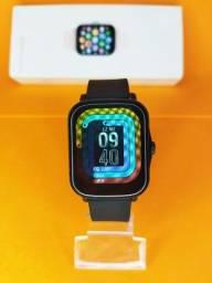 Título do anúncio: Smartwatch Colmi P8 Plus - Preto NOVO
