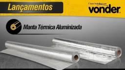 Manta térmica aluminizada  25 Metros Vonder