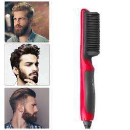 Pente elétrico de barba e cabelo profissional multifuncional Bivolt