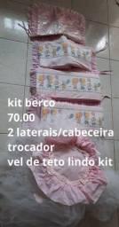 Kit berço/almofada amamentação